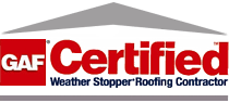 GAF certified residential roofer