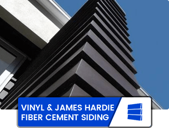 Vinyl & James Hardie Fiber Cement Siding