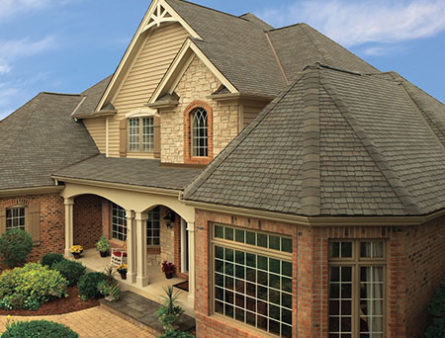A Morris County home with GAF Premium Designer Shingles.
