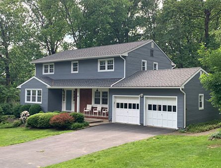 A Morris County home with GAF Timberline Ultra shingles.