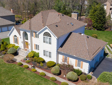 A Morris County home has had GAF Shingles installed.