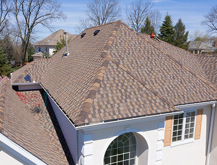 A Morris County Home with GAF Timberline American Harvest installed.