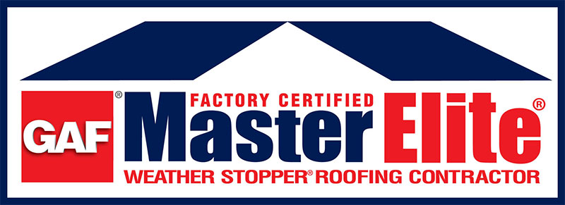 GAF Master Elite. Factory Certified Stopper Roofing Contractor,