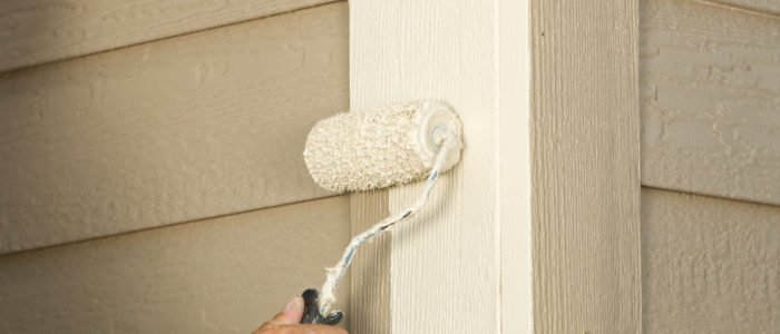 Painting Home Siding